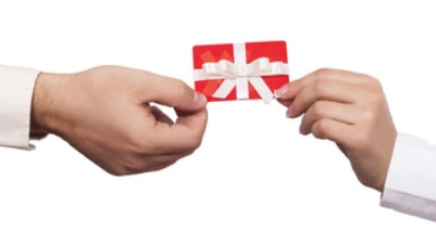 Gift Card with a Bow