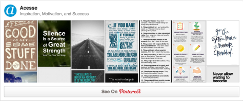 nspiration, Motivation, and Success Pinterest Board