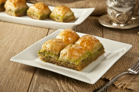 Baklava - food from around the world