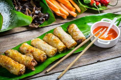 Gỏi cuốn (Vietnamese Spring Roll)  - recipes from around the world